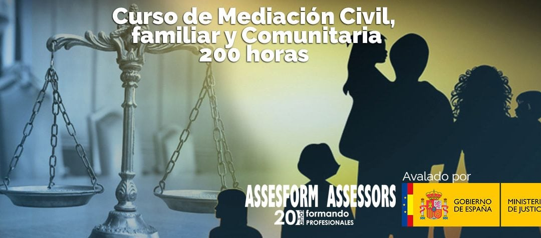 Curso de mediación civil, familiar y comunitaria